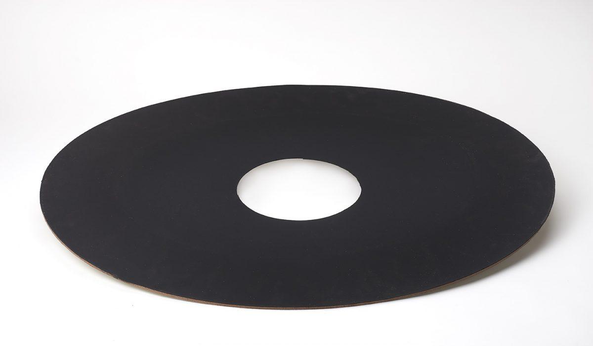 Dakdoorvoer plat Ø200 (plakstuk) ISODUCT