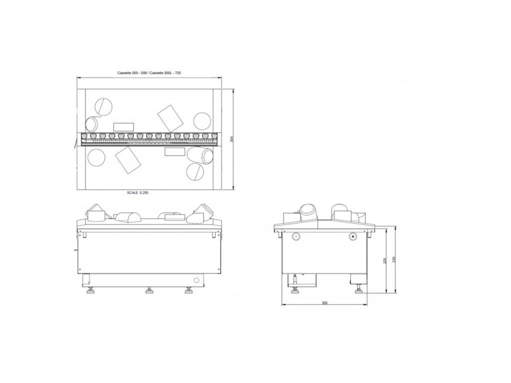 Dimplex Opti-myst Cassette 500R elektrische haard