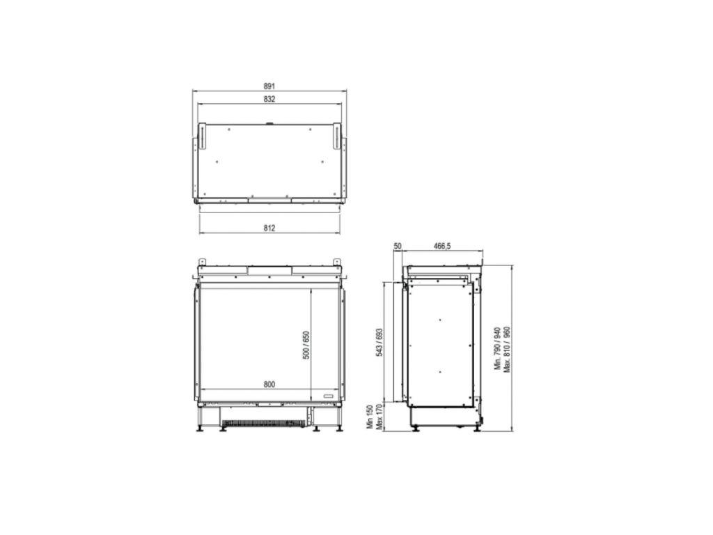 Faber e-MatriX 800/500 I Front